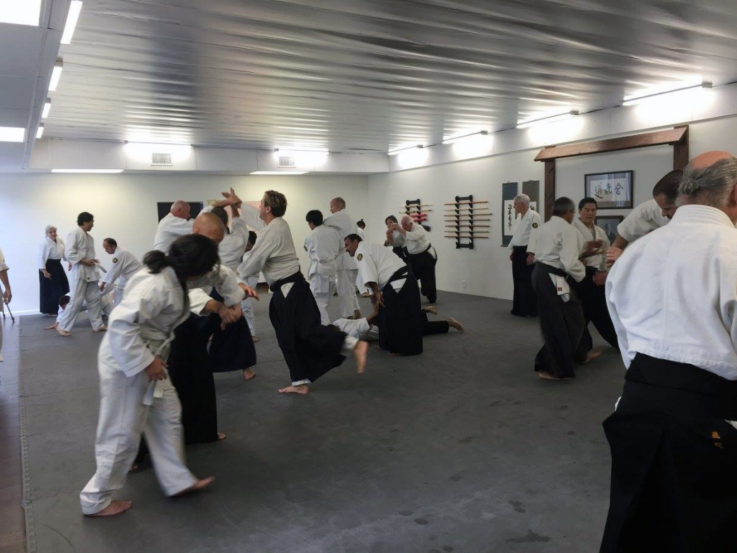 Practice at Southland Aikido