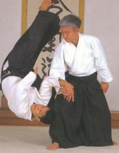 Moriteru Ueshiba Yoshimitsu Yamada Southland Aikido Los Angeles